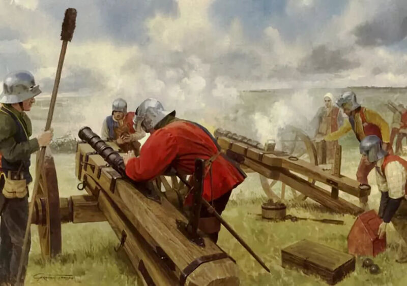 artillery at bosworth