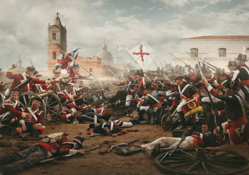 defence of buenos aires by the tercio de gallegos