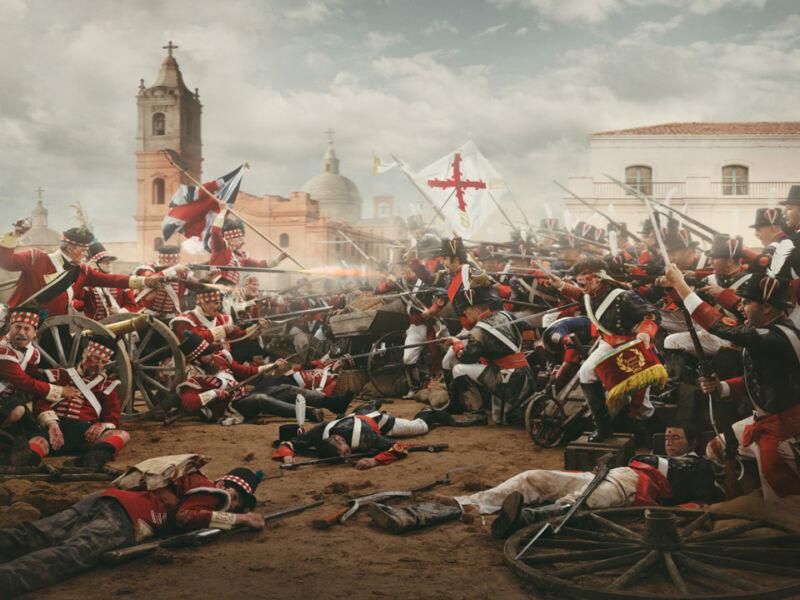 defence of buenos aires by the tercio de gallegos