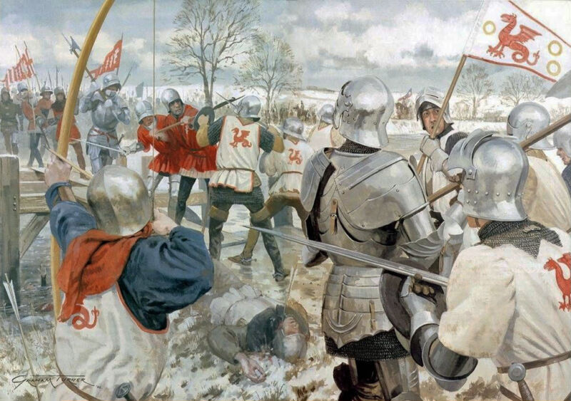 battle of ferrybridge 1461