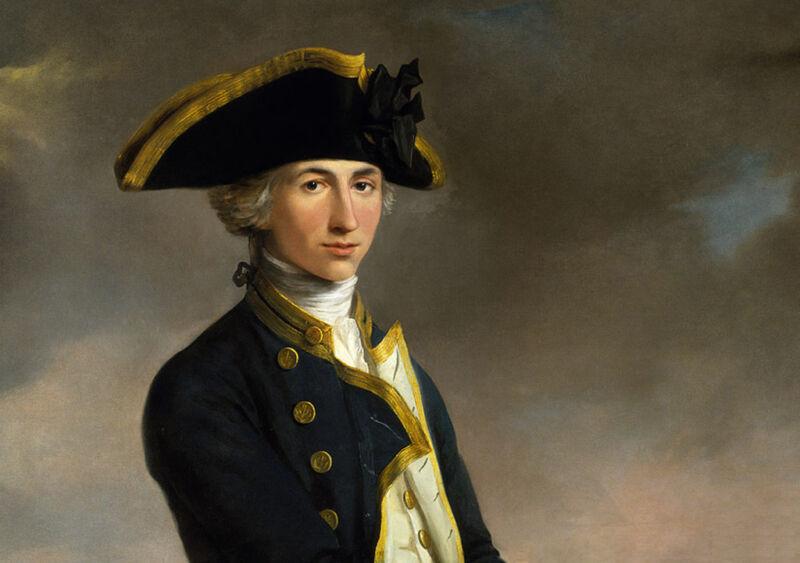 captain horatio nelson, 1758-1805, by john francis rigaud