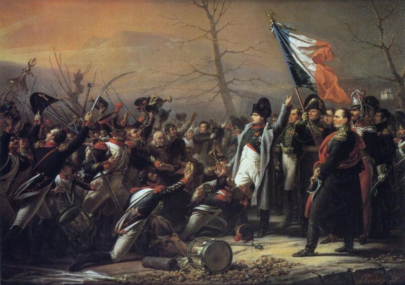 napoleons return from elba
