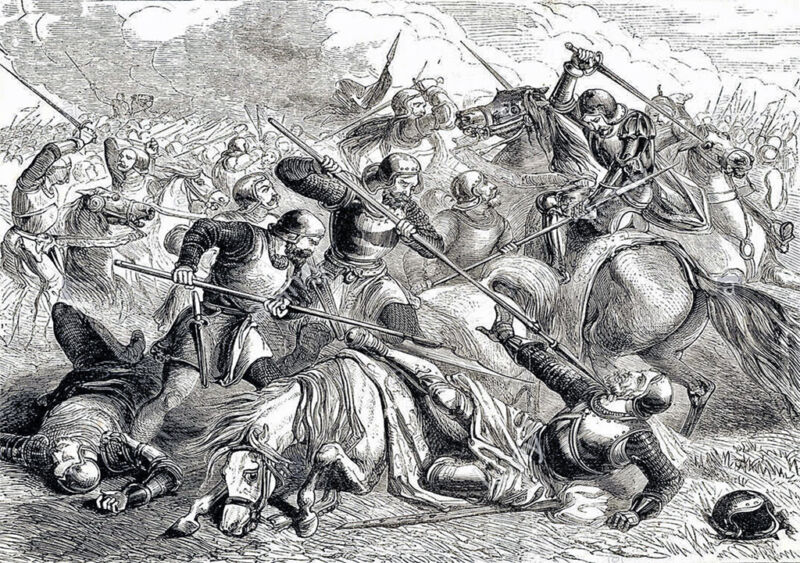 death of the earl of shrewsbury at the battle of northampton in 1460