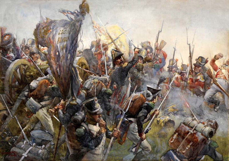 the 88th foot at the battle of salamanca, 1812
