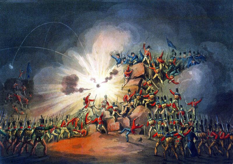 storming of ciudad rodrigo, 1812