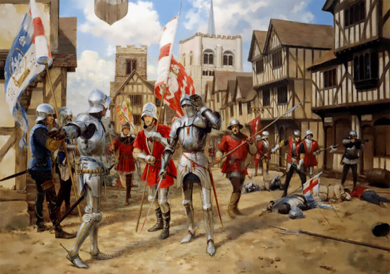 the first battle of st albans 1455