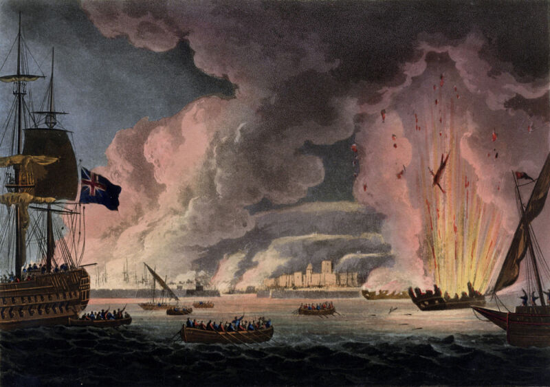 destruction of the french fleet at toulon