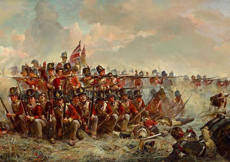 28th regiment at quatre bras