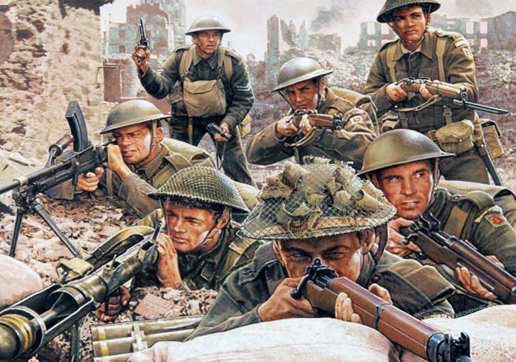 british infantry 1944