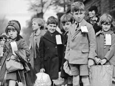 british evacuation of children during 1940