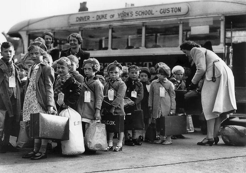 british evacuation of children in 1940