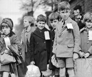 british evacuation of children during 1940